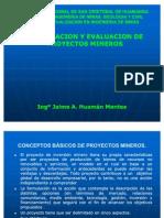 1 Formulación y Evaluación de Proyectos Mineros