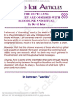David Icke - The Reptilians