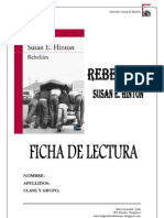 Guía de lectura de Rebeldes, Susan E. Hinton