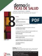 Cuaderno de Políticas de Salud, nº 08, junio 2011