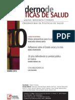 Cuaderno de Políticas de Salud, nº 10, enero 2012