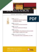 Revista de Estudios, nº 16, junio 2010