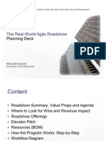 Real World Agile Roadshow - Planning Deck
