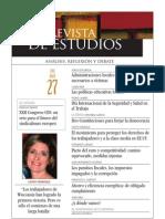 Revista de Estudios, nº 27, abril 2011