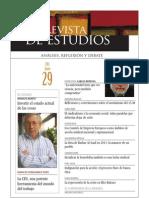 Revista de Estudios, nº 29, junio 2011