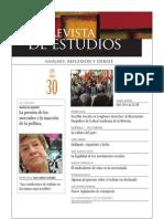 Revista de Estudios, nº 30, julio 2011