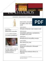 Revista de Estudios, nº 31, agosto 2011