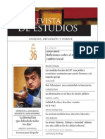 Revista de Estudios, nº 36, enero 2012
