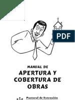 AperturaYCoberturaDeObras