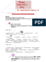 St Valentines Day Webquest
