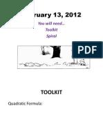 U5-L2-I1.I Think.intro to Quadratic Formula