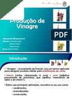 Produção de Vinagre