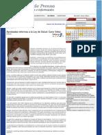 22-02-12 Aprobadas Reformas a La Ley de Salud Cano Velez