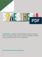 synesthesia presentation