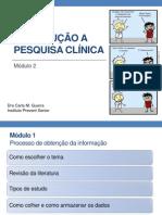 Introdução a pesquisa clínica -  modulo 2