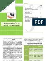 ADMINISTRACIÓN DE LA SALUD OCUPACIONAL