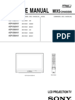 Sony Kdf e50a10