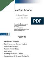 ExtendSim Seminar