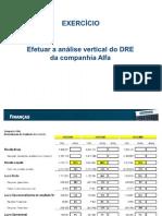 Cia Alfa - Exercício Resolvido - Análise Vertical e Horizontal