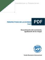Informe economia mundial 2011
