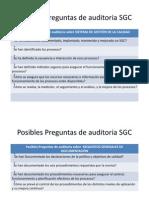 ISO 9001Preguntas Auditoria ISO 19011