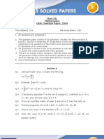 maths-2009-QUES