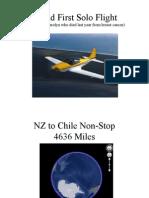 World First Solo Flight ++