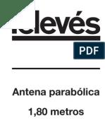 Antena 1.8 Metros