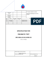 Pneumatic Test