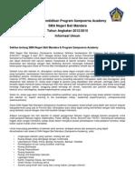General Info 2012 - SA Bali
