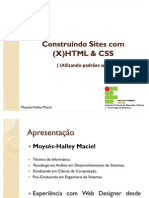 Mini Curso Xhtml Css Padroes Web