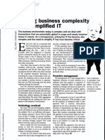 Solving Business Complexity With Simplified IT