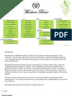 Modern Basic Catalog