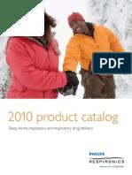 2010 Philips Respironics Catalog