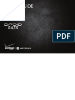 Droid Razr Manual