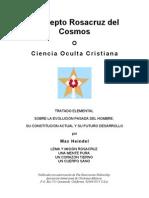 Concepto Rosacruz Del Cosmos PDF Completo