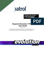 Skypatrol Evolution - TT8740 Users Guide - Revision 1.00