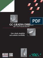 Gradiant RESINA GC