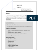 Resume Dilip (Short) Final