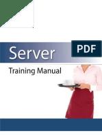 Server Training Manual Restaurant Owner