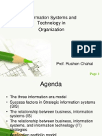 Information Systems and Technology in Org