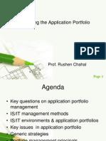 Managing the Application Portfolio