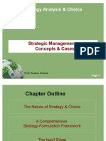 Strategic Management -Concepts & Cases