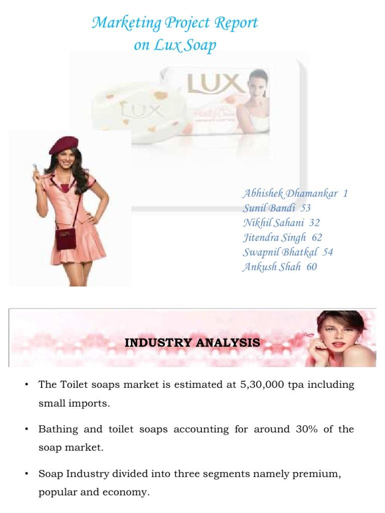 consumer behaviour towards lux soap