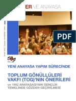 Gençler Anayasa'da Nasıl Olmalı - TOG Görüşü