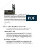 Types of Money Market Instruments in India