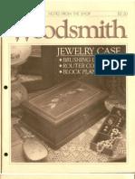 Woodsmith 46 - Aug 1986 - Jewelry Case