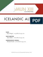 CHOMUN Icelandic Althing Rules of Procedure