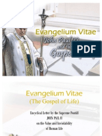 Evangelium_vitae the Dignity of Human Life