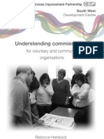 Understanding commissioning for voluntary and community organisations
